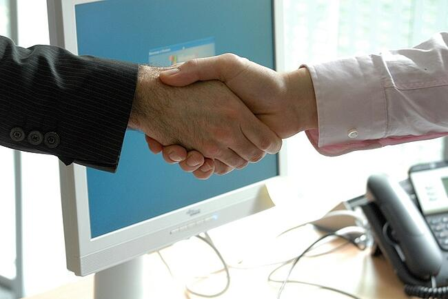 A smooth handover from marketing to sales is vital